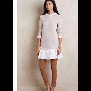Anthropologie Sunday in Brooklyn layered dress S